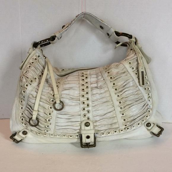 4626bebe58e Isabella Fiore Bags   Isabella Fiori Shir Honor Audra Hobo Off White ...